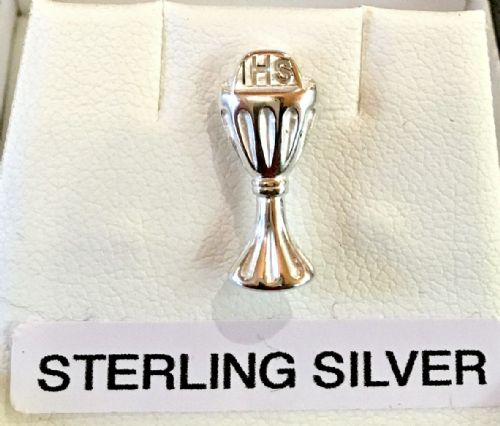 Antica Sterling Silver Communion Tie Pin
